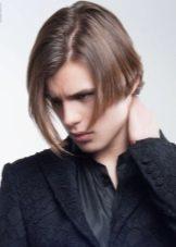 Стрижка боб мужская: фото прически на средние и короткие волосы для мужчин, видео как сделать, кому подходит, как укладывать, плюсы и минусы, звездные примеры