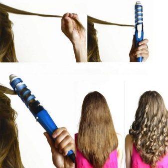 Спиральная плойка или щипцы для завивки волос, какую выбрать для спиральных локонов, отзывы