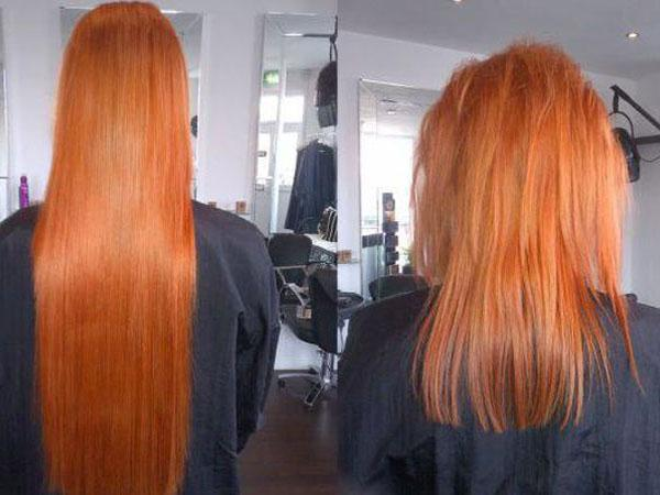 Как снять наращенные волосы в домашних условиях: капсульное наращивание, обзор жидкостей для самостоятельного снятия, фото волос после процедуры
