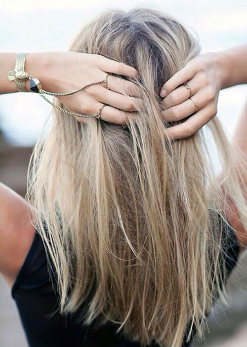 Бразильское мелирование: фото до и после окрашивания волос, как выглядит на темных и русых волосах