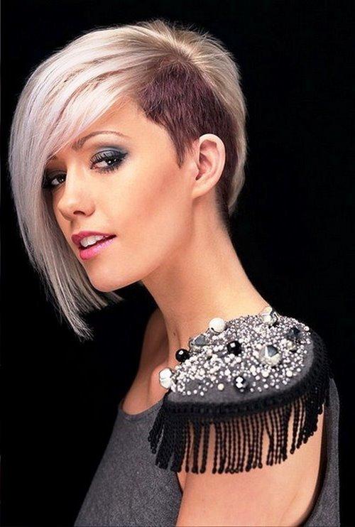 Прически с выбритыми висками женские: фото на длинных, коротких, средних волосах, с бритыми с двух сторон боками, затылком, с рисунками, унисекс стрижки, как правильно сделать имитацию такой прически