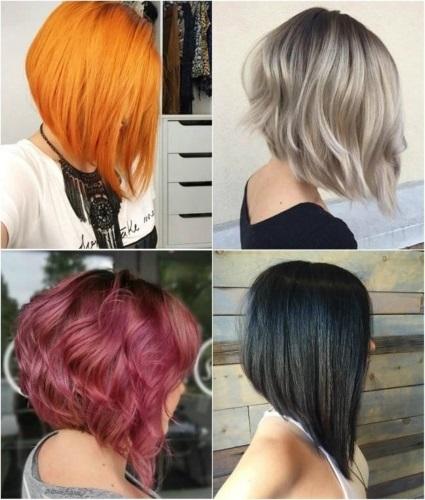 Длинный боб: фото стрижки на тонкие волосы до плеч и ниже, с косой челкой и без, кому подходит,технология выполнения, правила ухода, варианты укладки женской прически