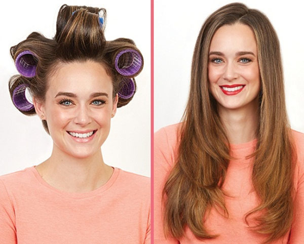 Как правильно накручивать бигуди на средние волосы: какие лучше использовать для крупных и мелких локонов: бумеранги, липучки, термо, коклюшки, бархатные, спиральные