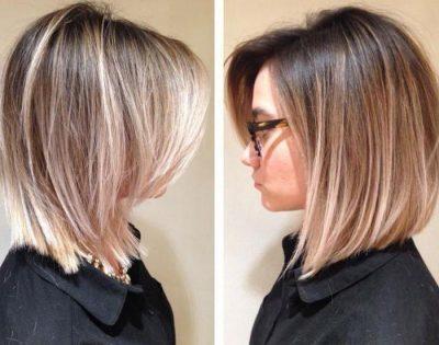 Брондирование на светлые и русые волосы, фото результата после процедуры на коротких, длинных и средней длины волосах, как выглядит на блондинках
