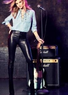Рокерские прически: дерзкие стрижки в стиле рокеров для девушек на концерт, для акробатического рок-н-ролла, вечеринки, женский глэм образ на длинные, средние, короткие волосы, простые варианты для самостоятельного выполнения