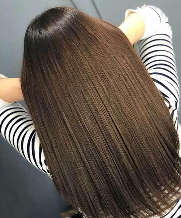 Красивое окрашивание волос для брюнеток: что за цвет брюнет, в какие сложные интересные оттенки его можно покрасить, фото идей на средние, короткие и длинные локоны