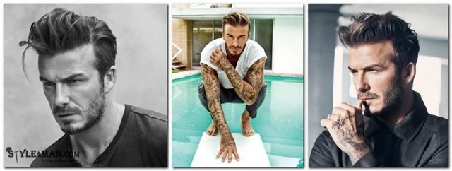 Прически Дэвида Бекхэма: фото, мужские стрижки в разные годы — короткая, с хвостиком и тп, как они называются, кому подойдут, как выглядит сейчас, самая известная причёска