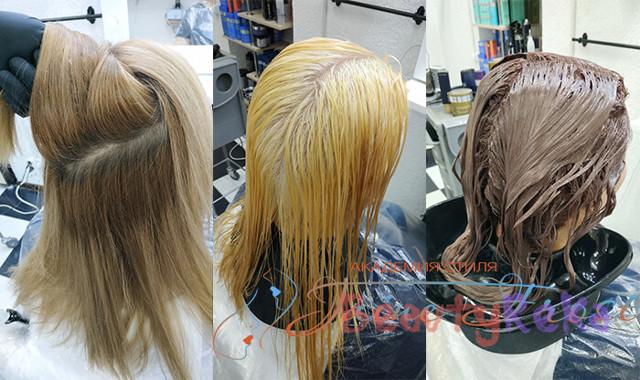 Паста для осветления волос Эстель whitetouch и другие бренды, способ применения, меры предосторожности, фото до и после