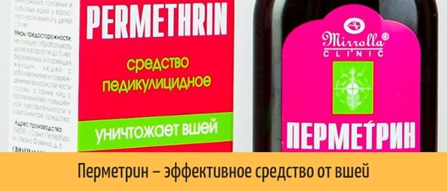 Перметрин от вшей и гнид: отзывы, цена, состав средства, инструкция по применению, формы выпуска (шампунь, спрей)