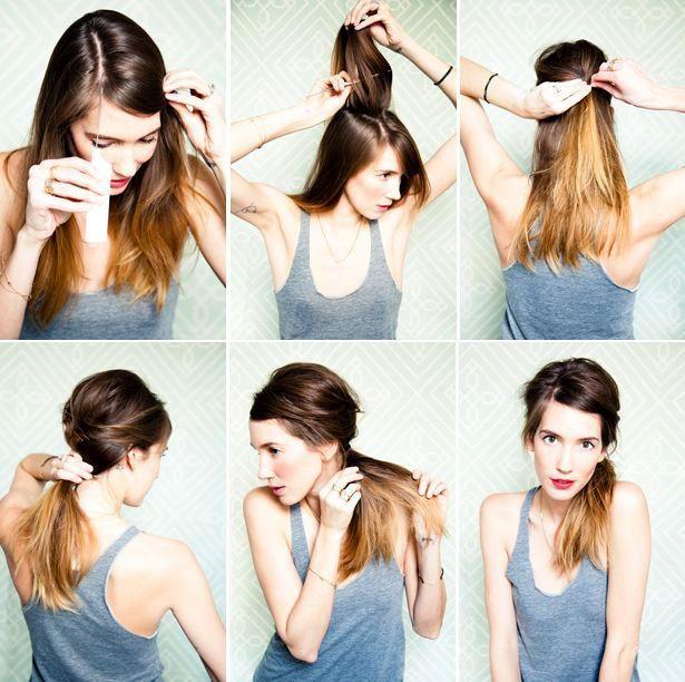 Как сделать хвост без резинки: как завязать из волос, что для этого надо, для каких случаев актуальна прическа, интересные варианты, пошаговые инструкции