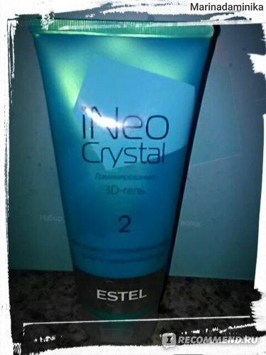 Набор для ламинирования волос Эстель: использование в домашних условиях, плюсы и минусы, фото до и после