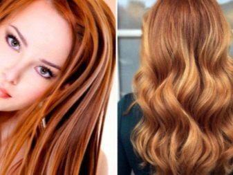 Балаяж на рыжие волосы, особенности окрашивания коротких, средней длины и длинных волос, как балаяж сочетается с рыжим цветом, фото