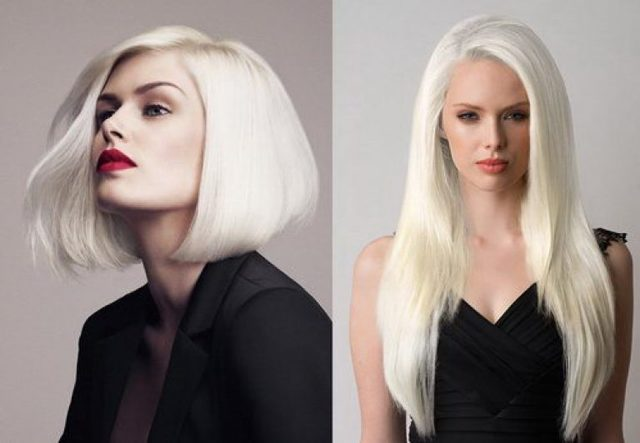Платиновый цвет волос: фото блондинок с модным оттенком, обзор профессиональных красок, тоников, шампуней для достижения нужного тона, отзывы, кому он подойдет