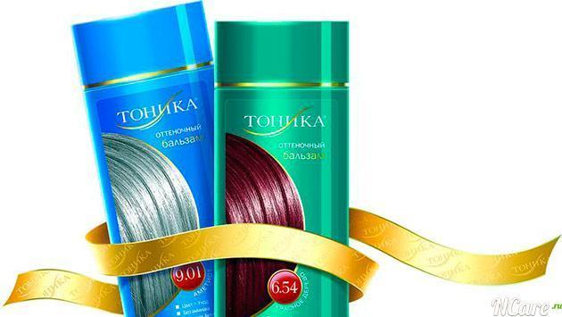 Оттеночный бальзам Тоника: красный янтарь, пепельный блондин, красное дерево, темно-русый, рыжие оттенки, пепельно розовый, фото тонирования на темных и русых волосах