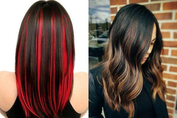 3d и 7d окрашивание волос в три цвета и более, схема голографического объемного мелирования, подходит ли эта техника для блондинок и на темные волосы, фото до и после процедуры, видео уроки