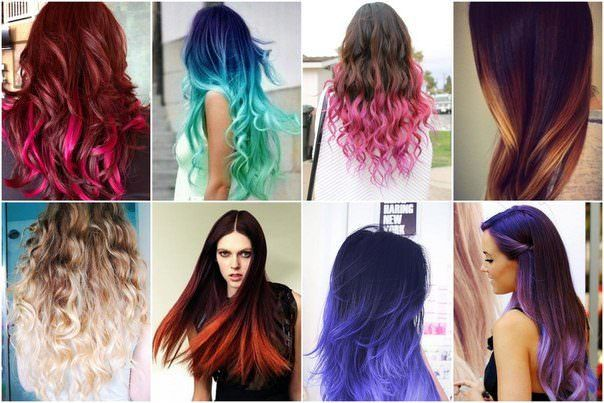 Покраска волос в два цвета: виды двойного, двухцветного окрашивания волос, техники окрашивания волос в 2 цвета