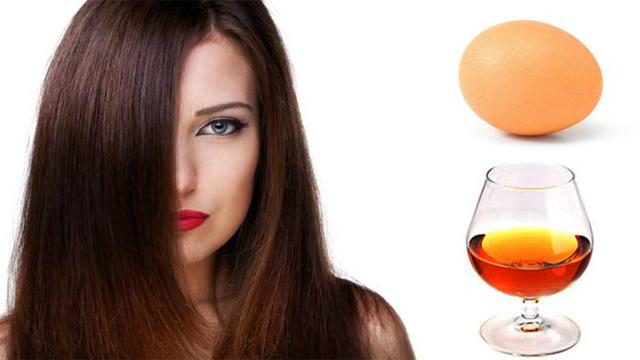 Маска для роста волос с коньяком: правила и особенности использования, основные рецепты